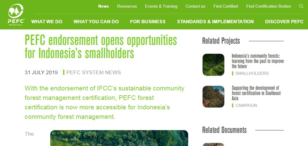 PEFC Endorsement for IFCC Community Forest Scheme.jpg