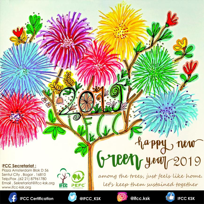 Happy New GREEN Year 2019 IFCC